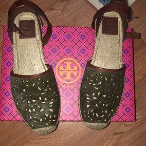Tory Burch flat espadrille sandal